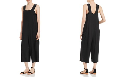 Eileen Fisher Petites Cropped Jumpsuit - Bloomingdale's_2