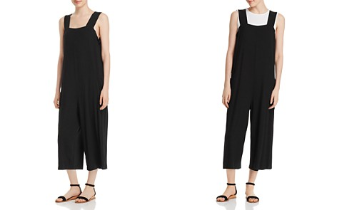 Eileen Fisher Slouchy Cropped Jumpsuit - Bloomingdale's_2