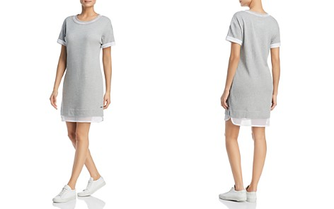 Marc New York Performance Mesh-Trim Dress - Bloomingdale's_2