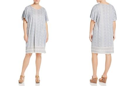 Lucky Brand Plus Printed Flutter-Sleeve Dress - Bloomingdale's_2
