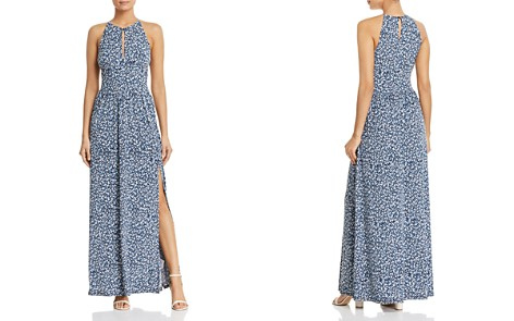 MICHAEL Michael Kors Micro-Floral Maxi Dress - Bloomingdale's_2