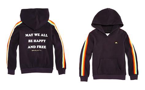 Spiritual Gangster Girls' Hooded Rainbow Fleece Sweatshirt - Little Kid, Big Kid - Bloomingdale's_2
