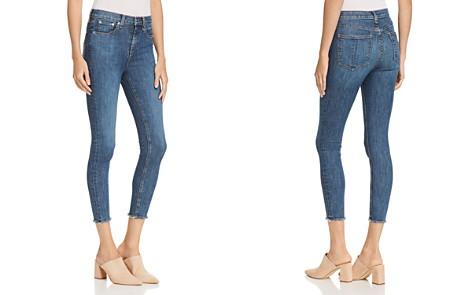 rag & bone/JEAN High-Rise Frayed Ankle Skinny Jeans in West - Bloomingdale's_2
