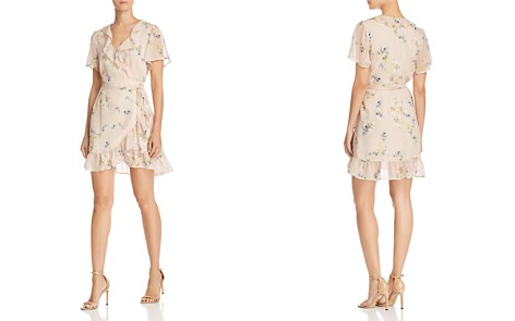PAIGE Cardamom Floral Wrap Dress - Bloomingdale's_2