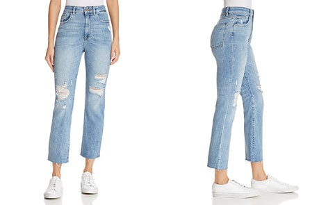 DL1961 Jerry High Rise Vintage Straight Jeans in Santos - Bloomingdale's_2