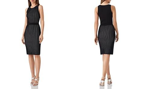 REISS Harper Ribbed-Knit Dress - Bloomingdale's_2