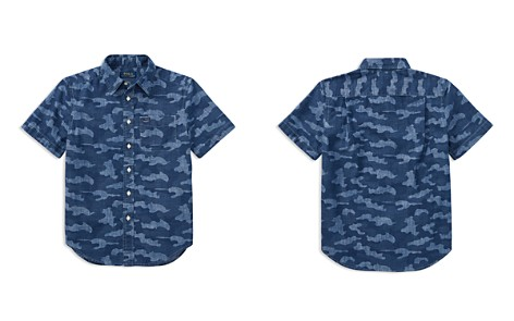 Polo Ralph Lauren Boys' Short-Sleeve Camouflage Shirt - Big Kid - Bloomingdale's_2