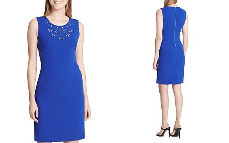Calvin Klein Eyelet-Detail Dress - Bloomingdale's_2