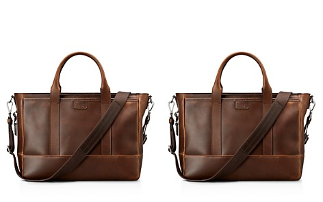 Shinola Navigator Distressed Leather Briefcase Tote - Bloomingdale's_2