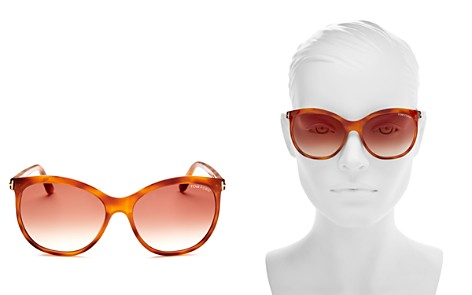 Tom Ford Women's Geraldine Square Mirrored Sunglasses, 57mm - 100% Exclusive - Bloomingdale's_2