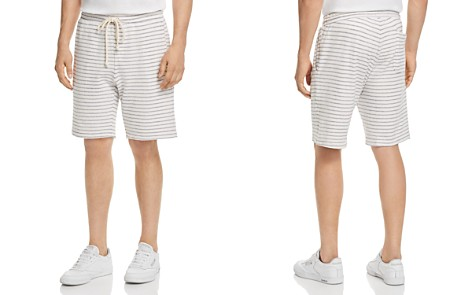 Velvet by Graham & Spencer Bram Striped Fleece Shorts - Bloomingdale's_2