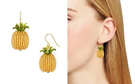 kate spade new york Beaded Pineapple Drop Earrings - Bloomingdale's_2