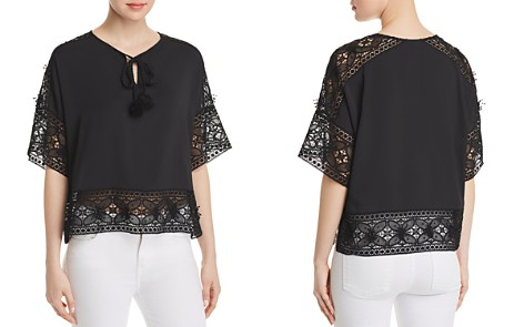 Le Gali Katherine Lace-Trimmed Blouse - 100% Exclusive - Bloomingdale's_2
