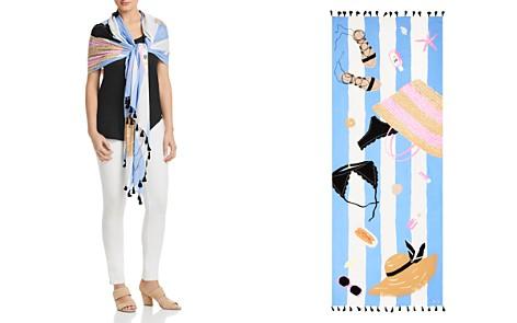 kate spade new york Beach Towel Oblong Scarf - Bloomingdale's_2