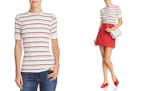 FRAME '70s Striped Fitted Tee - Bloomingdale's_2