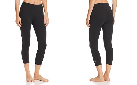 Alo Yoga Airbrush High-Waist Cropped Leggings - Bloomingdale's_2