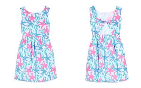 Vineyard Vines Girls' Starfish & Conch Tie-Back Dress - Little Kid, Big Kid - Bloomingdale's_2