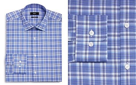 BOSS Multi Plaid Regular Fit Dress Shirt - Bloomingdale's_2