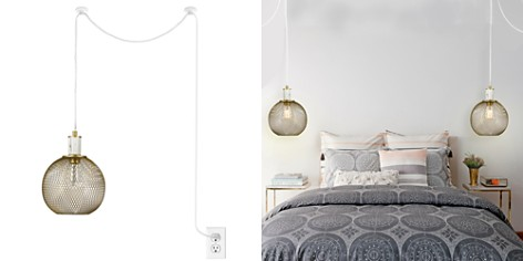 cupcakes and cashmere Mesh Swag Marble Pendant Lamp - Bloomingdale's_2