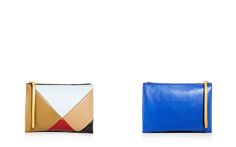 Marni Multicolor Double-Sided Leather Pouchette Clutch - Bloomingdale's_2