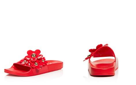 MARC JACOBS Women's Daisy Aqua Slide Sandals - Bloomingdale's_2