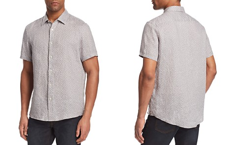 Michael Kors Printed Linen Button-Down Shirt - Bloomingdale's_2
