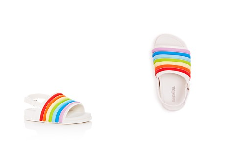 Mini Melissa Girls' Mini Slingback Pool Slides - Walker, Toddler - Bloomingdale's_2
