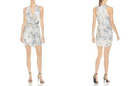 Haute Hippie Trails End Snake Print Twist-Front Dress - Bloomingdale's_2
