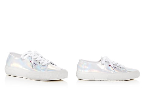 Superga Women's Cotu Classic Hologram Lace Up Sneakers - Bloomingdale's_2