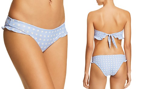 For Love & Lemons Heart Throb Ruffle Bikini Bottom - Bloomingdale's_2