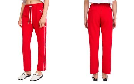 The Kooples Side-Snap Logo Sweatpants - Bloomingdale's_2