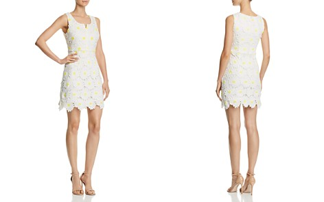 AQUA Daisy Lace Sheath Dress - 100% Exclusive - Bloomingdale's_2