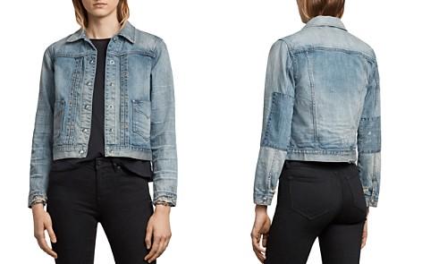 ALLSAINTS Serene Embroidered Denim Jacket - Bloomingdale's_2
