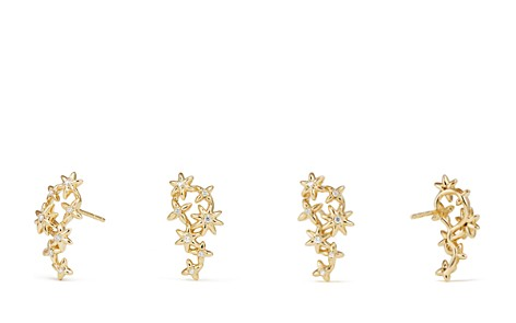 David Yurman Starburst Constellation Climber Earrings in 18K Gold with Diamonds - Bloomingdale's_2