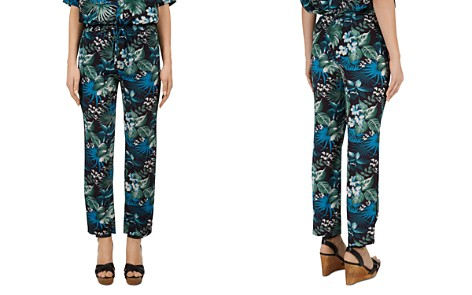 Gerard Darel Monica Tropical-Print Drawstring Pants - Bloomingdale's_2
