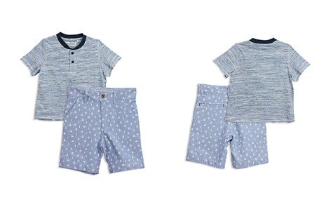 Sovereign Code Boys' Variegated Tee & Anchor-Print Shorts Set - Baby - Bloomingdale's_2
