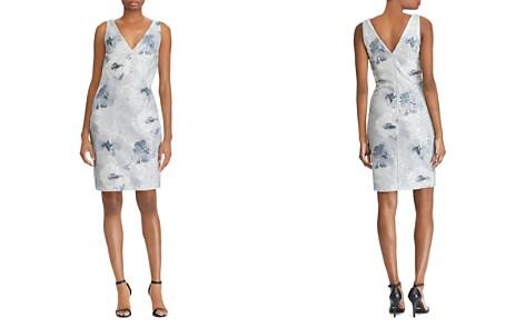 Lauren Ralph Lauren Sequined Floral-Print Dress - Bloomingdale's_2