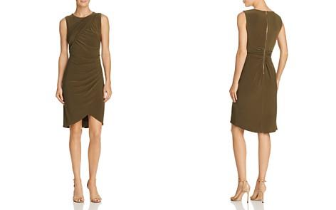 Adrianna Papell Draped Jersey Sheath Dress - Bloomingdale's_2