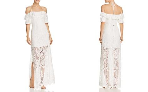 WAYF Tasha Cold-Shoulder Lace Gown - Bloomingdale's_2