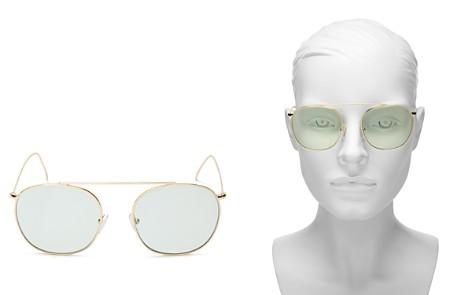 Illesteva Women's Mykonos II Aviator Sunglasses, 53mm - Bloomingdale's_2
