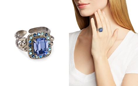 Sorrelli Opulent Octagon Statement Ring - Bloomingdale's_2