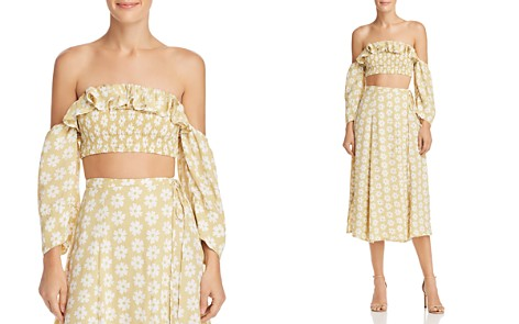 Faithfull the Brand Sybil Off-the-Shoulder Crop Top - Bloomingdale's_2