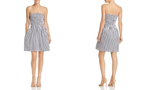 ATM Anthony Thomas Melillo Smocked Striped Dress - Bloomingdale's_2