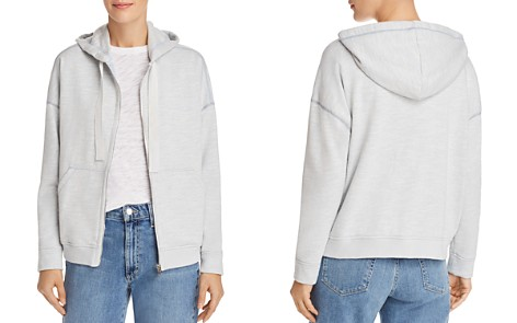 ATM Anthony Thomas Melillo French-Terry Zip-Front Hoodie - Bloomingdale's_2