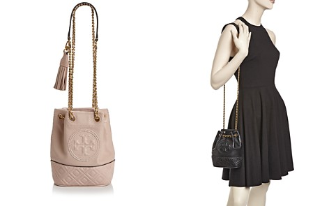 Tory Burch Fleming Small Leather Bucket Bag - Bloomingdale's_2