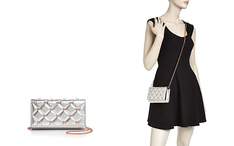 Ted Baker Quilted Leather Matinee Bow Crossbody - Bloomingdale's_2