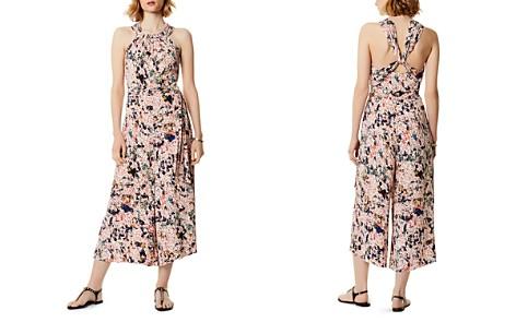 KAREN MILLEN Floral Print Wide-Leg Jumpsuit - Bloomingdale's_2