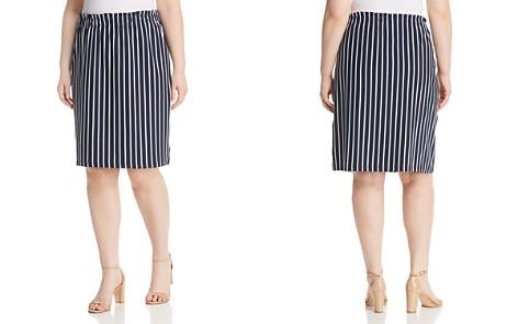 JUNAROSE Plus Domias Striped Pull-On Pencil Skirt - Bloomingdale's_2