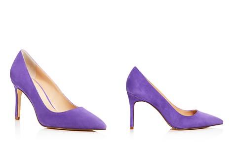 Charles David Women's Denise Suede Pointed Toe High-Heel Pumps - Bloomingdale's_2