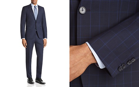 HUGO Slim Fit Windowpane Suit Separates - Bloomingdale's_2